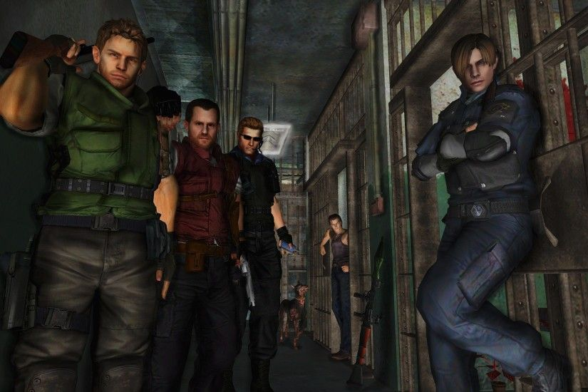 Resident evil wallpaper 22 by ethaclane Resident evil wallpaper 22 by  ethaclane
