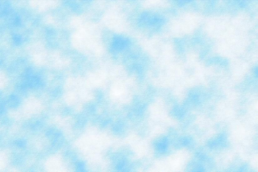 Blue and White Cloud Pattern Background