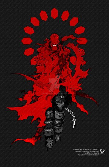 Otaku12321 23 4 the Red Man by DarkRevolt