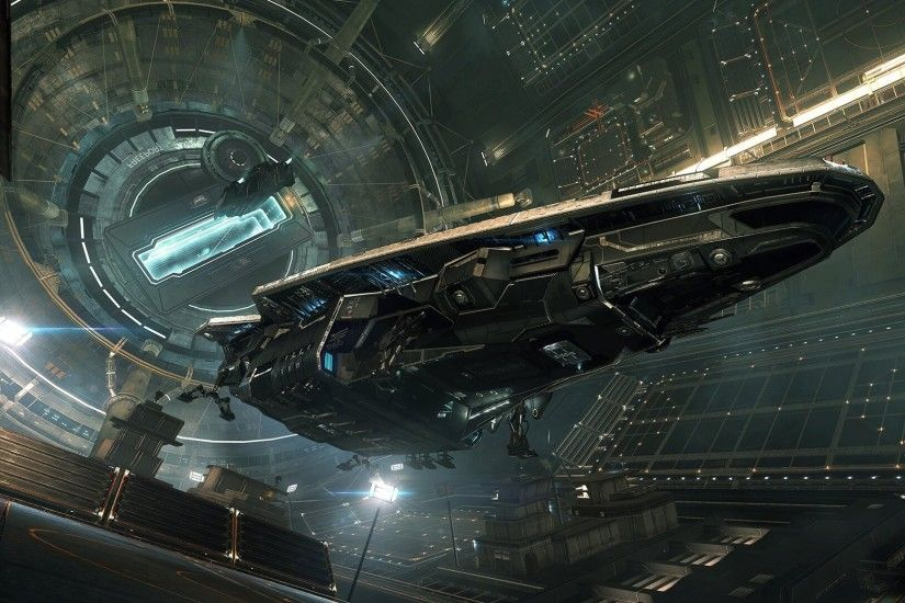Elite: Dangerous, Video Games, Science Fiction, Spaceship, Anaconda ( spaceship)