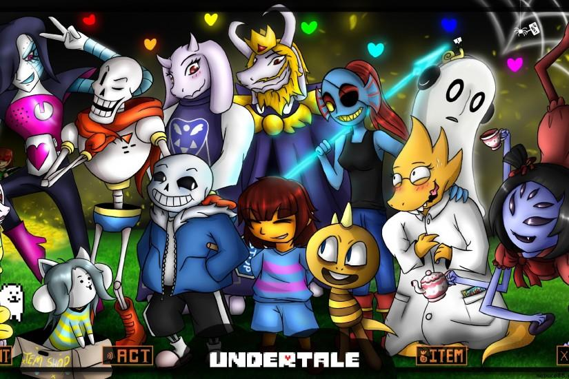 undertale wallpaper 1920x1080 for 4k