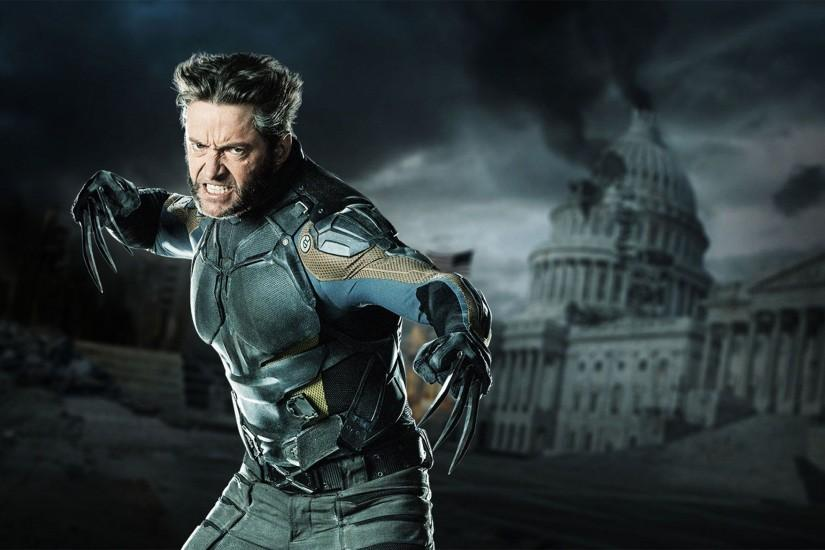 Hugh Jackman as Wolverine in 2014 X-Men Wallpaper Wide or HD .