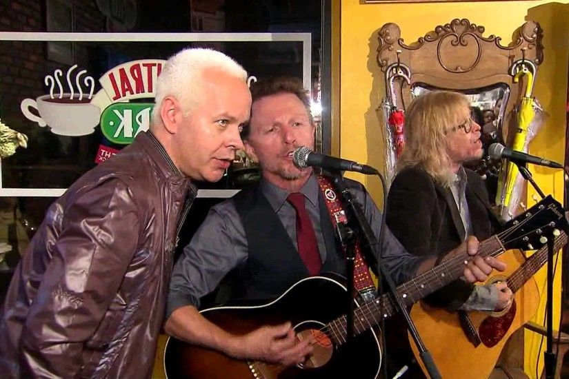 Rembrandts Play 'Central Perk Cafe' to Celebrate Friends TV Show .