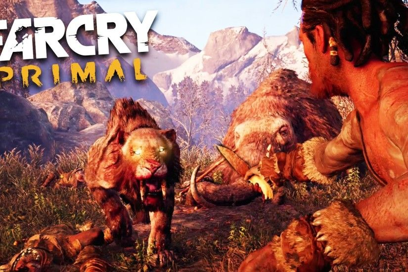 Far Cry Primal - SABER TOOTH TIGER ATTACK!!! (Far Cry Primal Gameplay) -  YouTube
