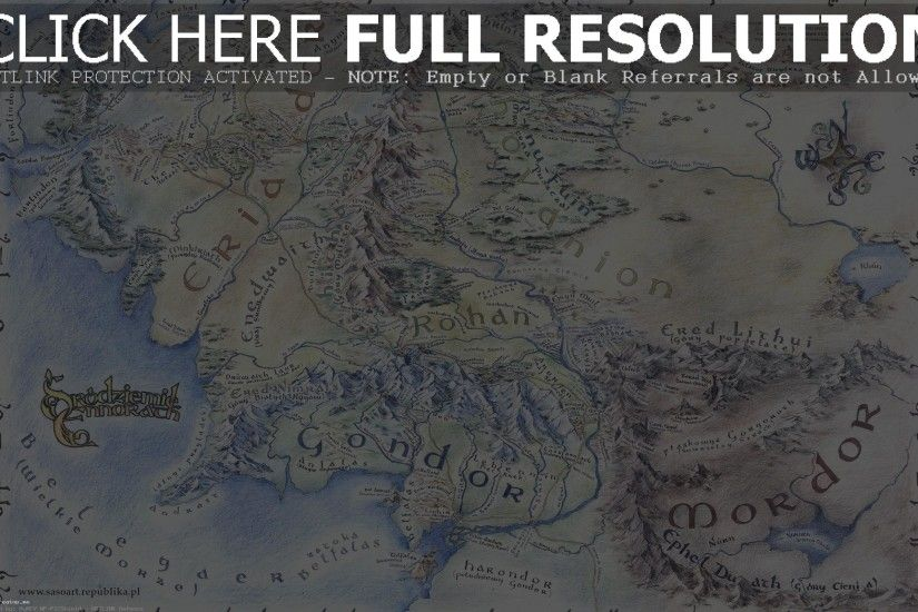 Map Of Middle Earth Wallpapers Wallpaper Cave Unbelievable Full