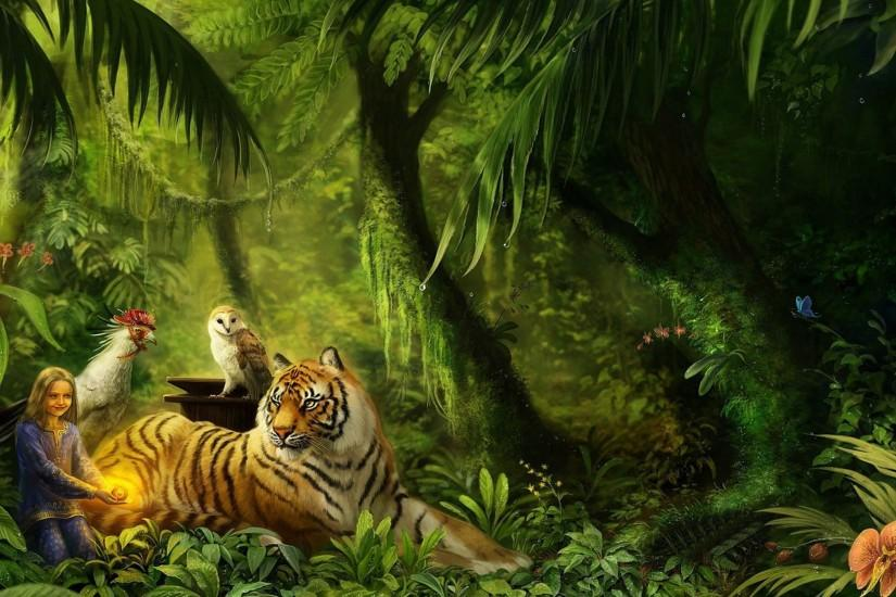 download jungle background 1920x1200 pc