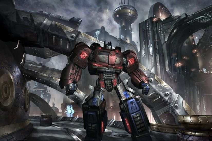 1920x1080 Transformers Fall of Cybertron Titan Wallpaper