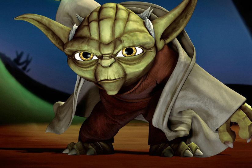 ... star wars the clone wars yoda 01