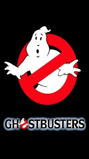 Movies Ghostbusters Logo Black Dark Ghost Action