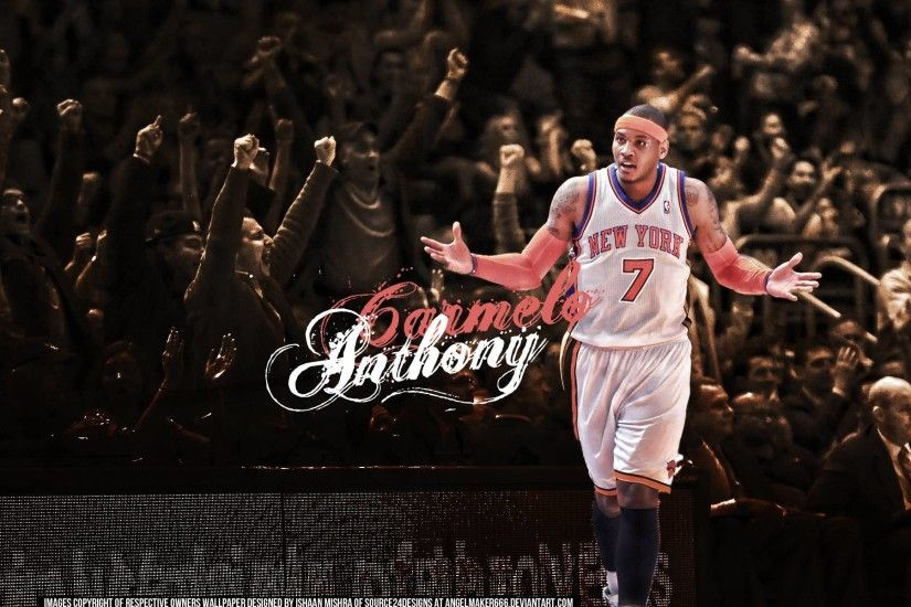 Carmelo Anthony Wallpaper by Angelmaker666 - Full HD Wallpapers