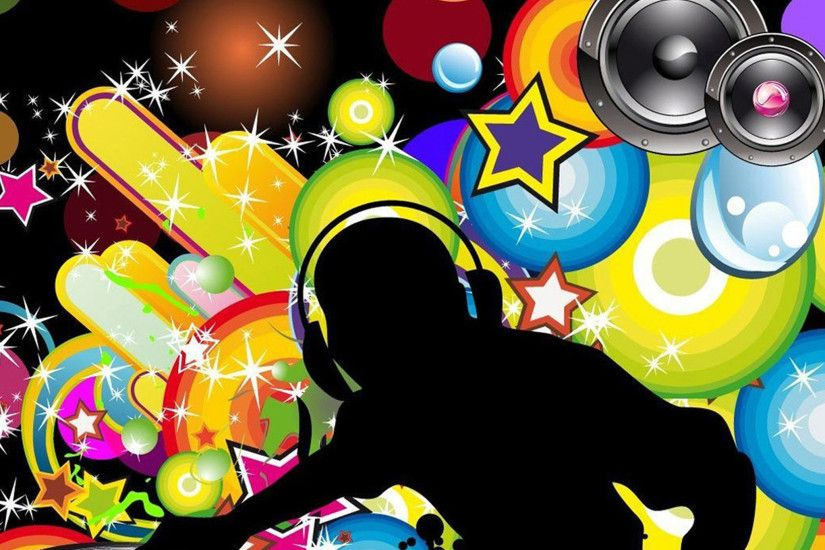 Color DJ music wallpapers
