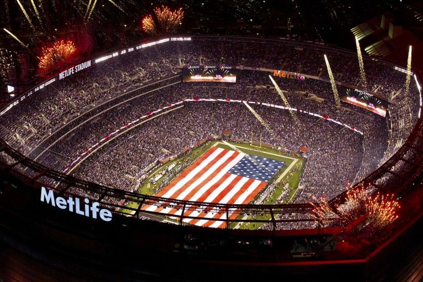 2560x1440 Wallpaper super bowl, 2014, football, american football, stadium
