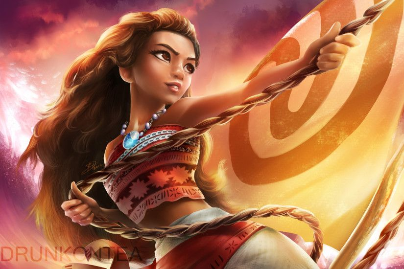 Movie - Moana Moana (Movie) Moana Waialiki Wallpaper