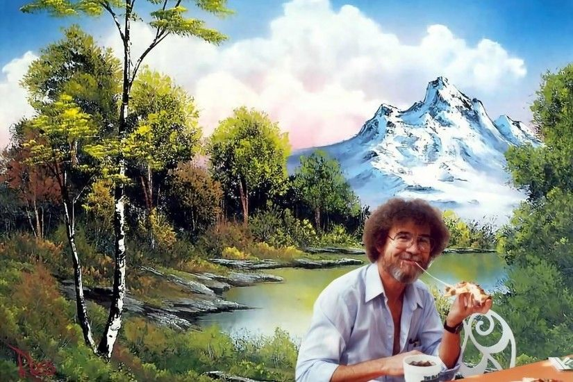Bob Ross Facts! Funny Quotes, Jokes, Images and Video - Submit .