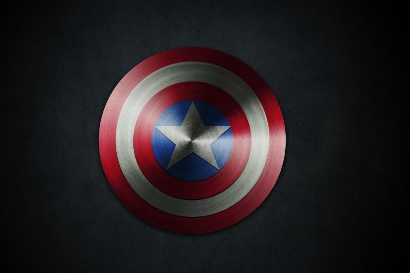 Captain America Shield 28 Hd Wallpaper - Trendy Wallpapers