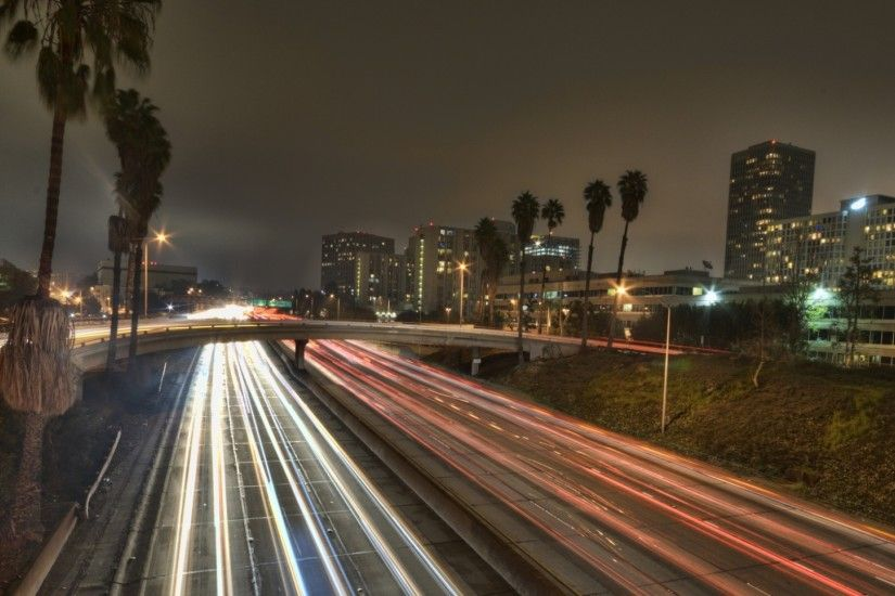 1920x1080 Wallpaper los angeles, city, america, california, usa, road