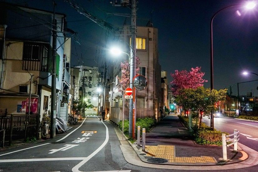 cityscape, Street light, Road, Japan Wallpapers HD / Desktop and Mobile  Backgrounds