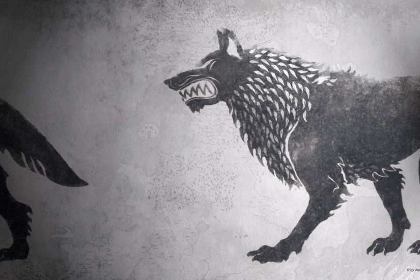 Fire sigil fan art hbo house stark wallpaper