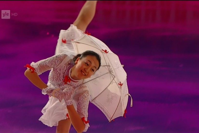 Mao Asada - Closing Gala - 2013 World Figure Skating Championships - Real  HD video - YouTube