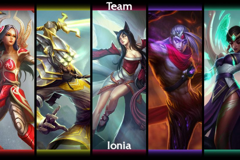 Download League Of Legends Irelia (League Of Legends) Master Yi (League Of  Legends) Ahri (League Of Legends) Varus (League Of Legends) Karma (League  Of ...