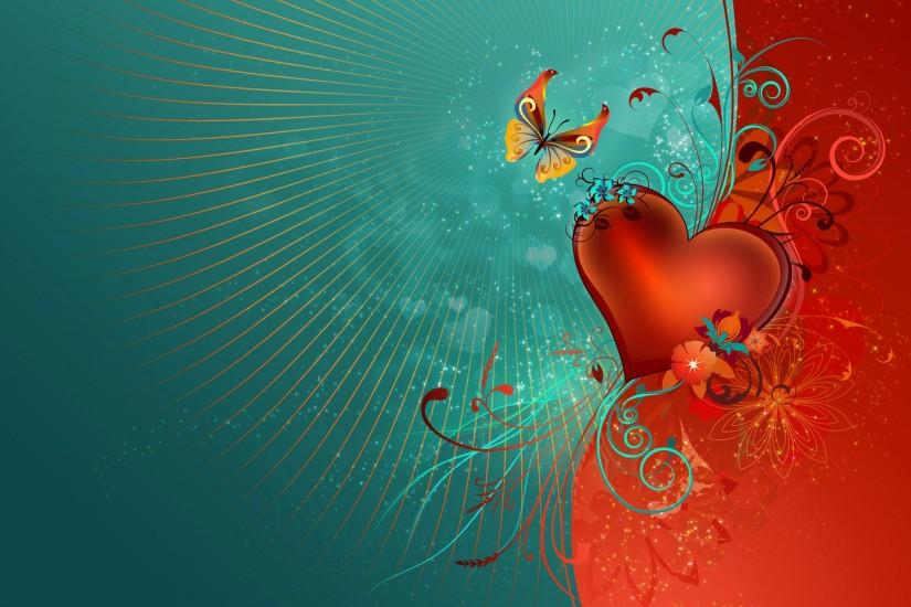 beautiful valentines day background 1920x1200 for mobile