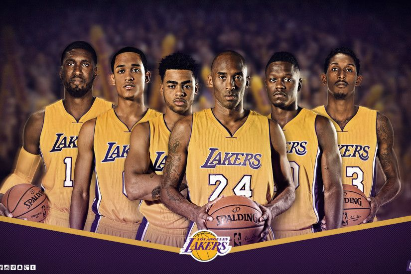 Lakers Wallpapers And Infographics: Los Angeles Lakers Wallpaper ·① WallpaperTag