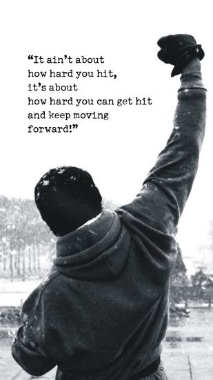 Rocky Motivational Words Android Wallpaper free download