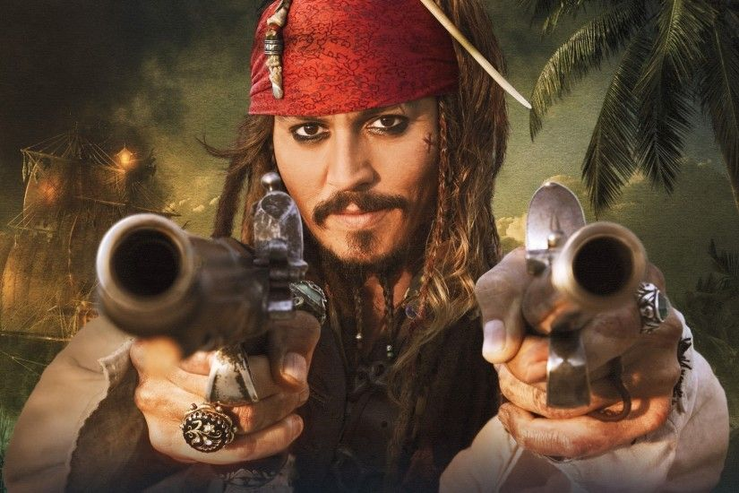 Jack Sparrow, Pirates Of The Caribbean, Johnny Depp, Pirates Wallpapers HD  / Desktop and Mobile Backgrounds