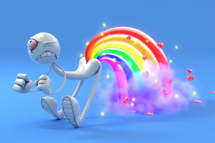 Rainbow Fart wallpaper and background