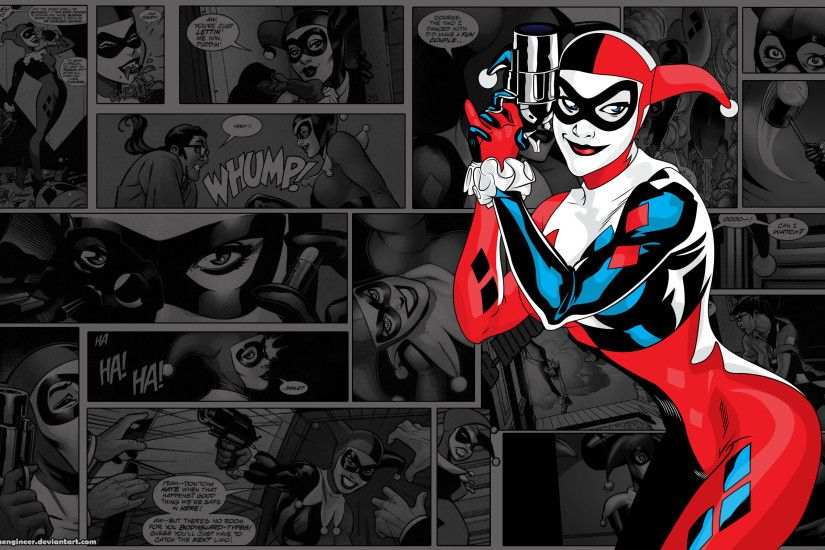 harley quinn comic wallpaper #517554