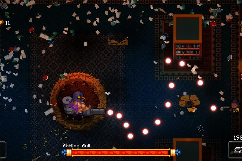 Fans of Nuclear Throne and The Binding of Isaac will love Enter the Gungeon