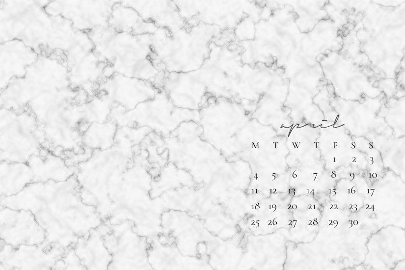 Marble-April-Calendar-Desktop-Wallpaper
