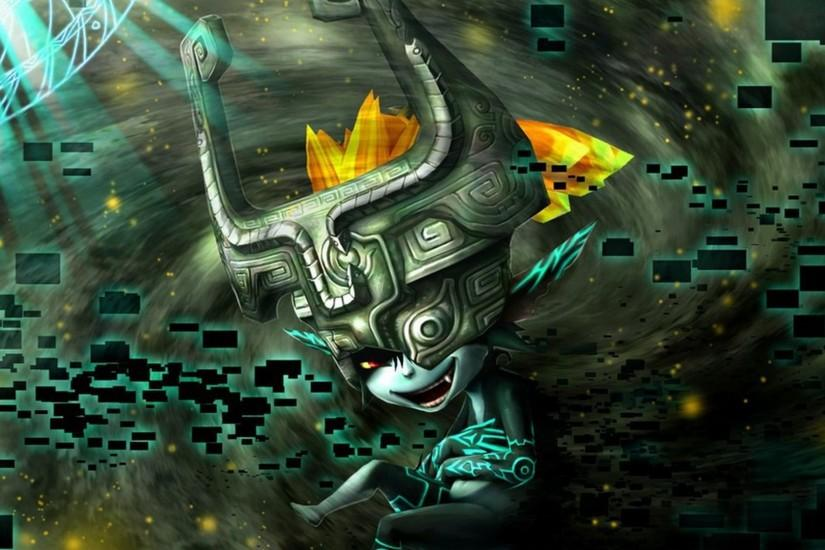 Midna, the impish assistant to Link from The Legend of Zelda: Twilight  Princess