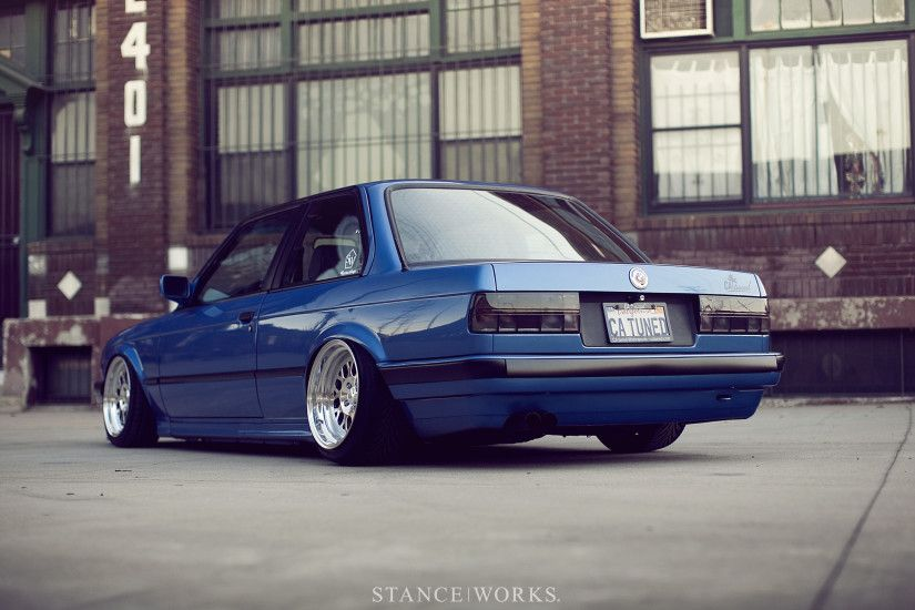 StanceWorks Wallpaper – CAtuned's Estoril E30
