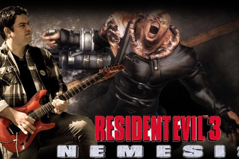 Resident Evil 3 Nemesis - Staffs & Credits - Guitar Cover HD
