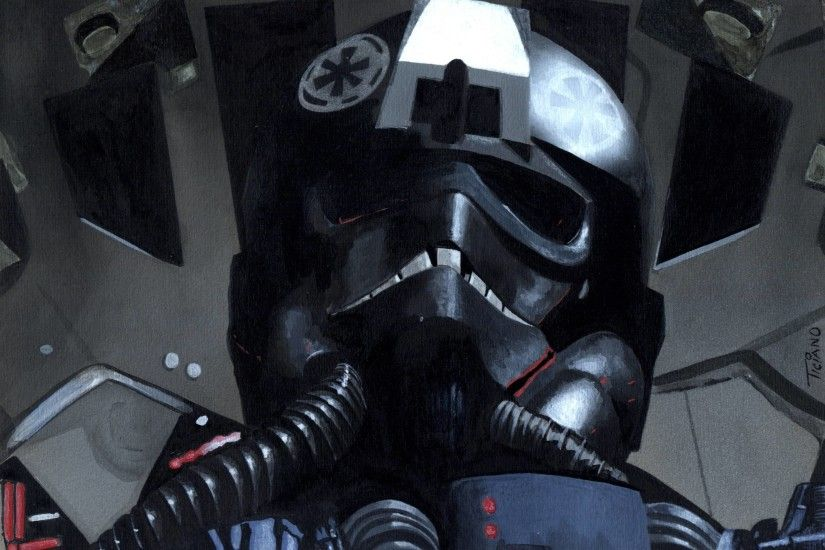 Tie Fighter Pilot by Ethereal-Mind on DeviantArt