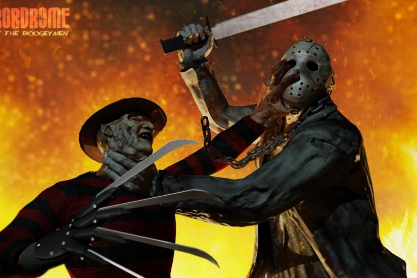Freddy Krueger vs Undead Jason Voorhees