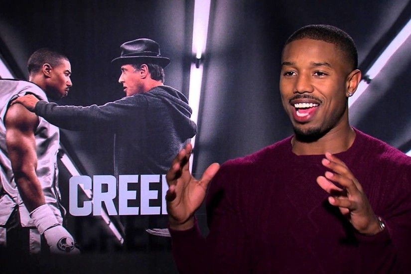 CREED Interview: Michael B. Jordan on Filming, Working with Stallone &  Training
