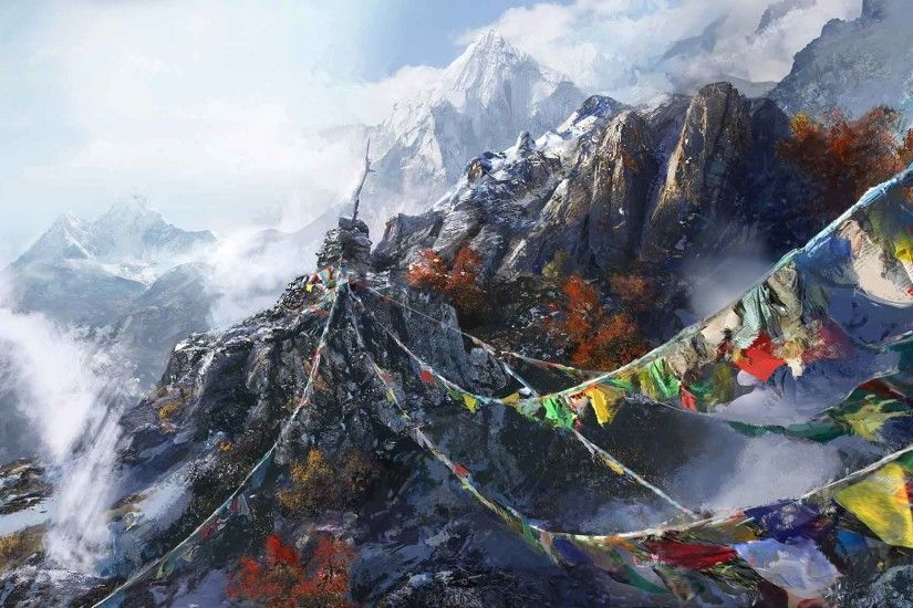 Far Cry 4 FPS Game HD Desktop Wallpaper
