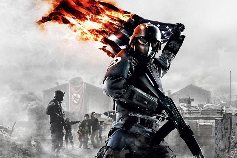 Homefront US Flag Wallpapers | HD Wallpapers