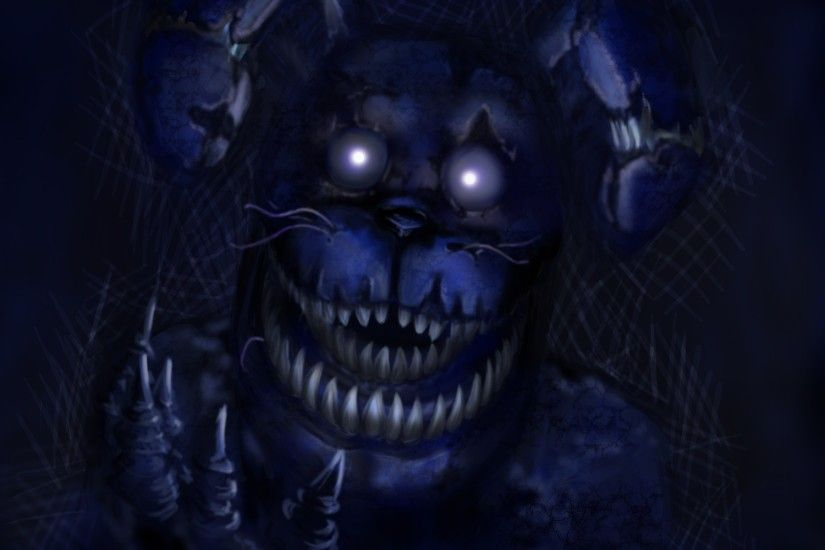 Fnaf, Fnaf 4, Nightmare, Horror Game, Bonnie, Five Nights At Freddys