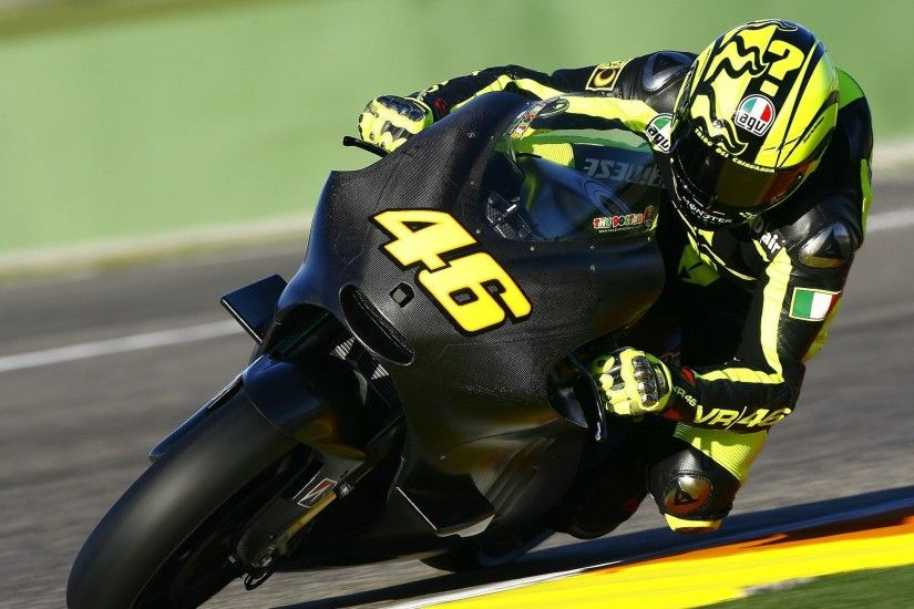 Preview wallpaper rider, motorcycle, motogp, valentino rossi, 2014 3840x2160