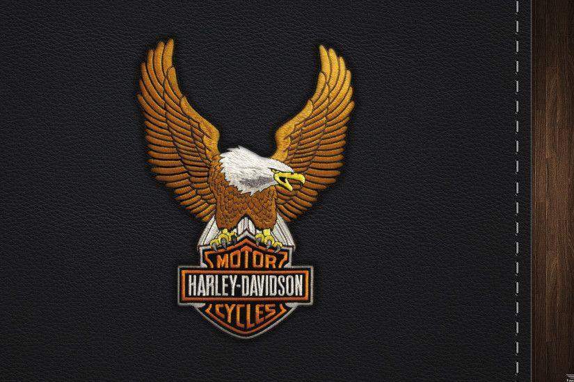 Fond D  Ef Bf Bdcran Harley Davidson Logo
