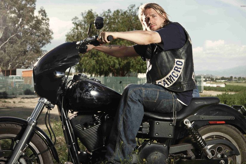 Jax Teller - Sons of Anarchy [3] wallpaper · TV Shows · Charlie Hunnam ...