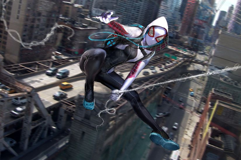 Comics - Spider-Gwen Gwen Stacy Marvel Comics Wallpaper