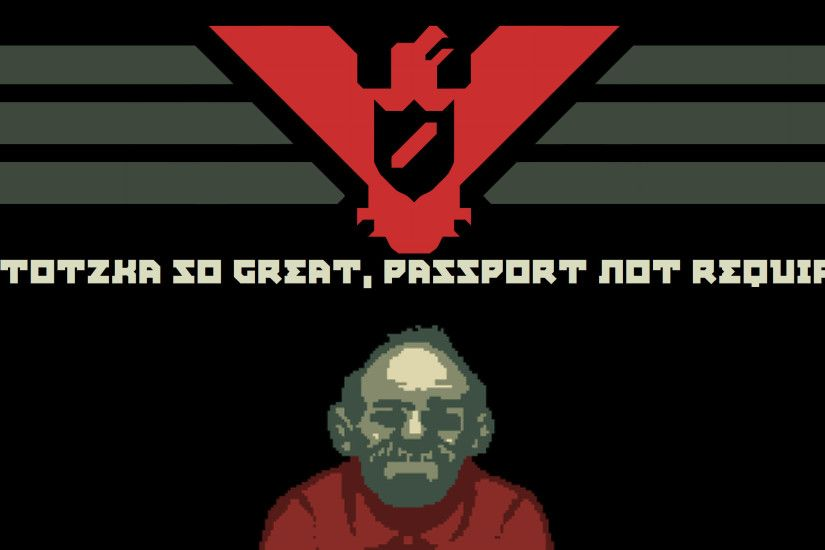 Jorji Costava - Papers, Please wallpaper by boopuffy-wallpapers
