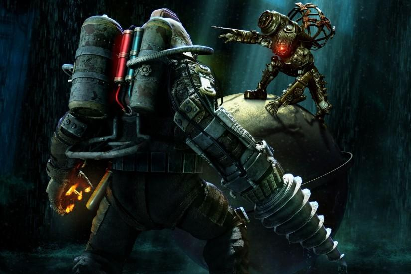 Bioshock 2 Full HD Wallpaper 1920x1080