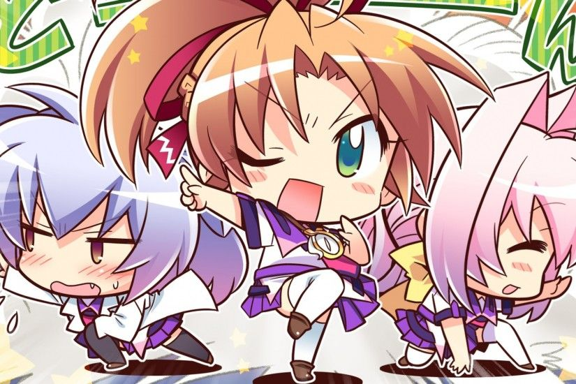 2560x1440 Wallpaper 77, chibi, game cg, anime, motion, bangs