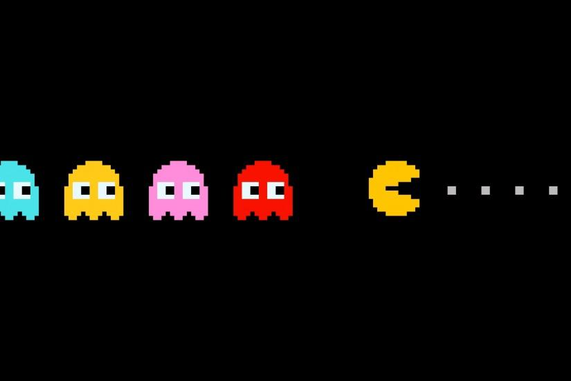 Pacman Games Wallpaper HD For Desktop | WALLSISTAH.COM