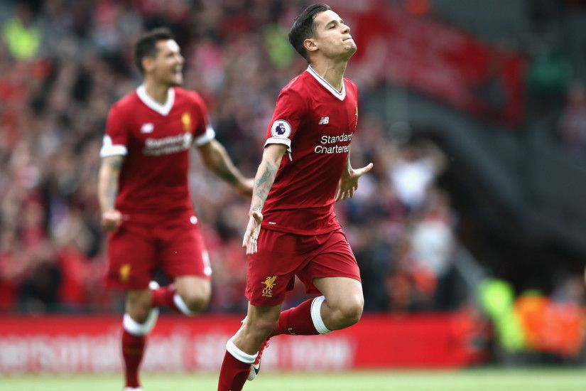 Philippe Coutinho Liverpool Premier League